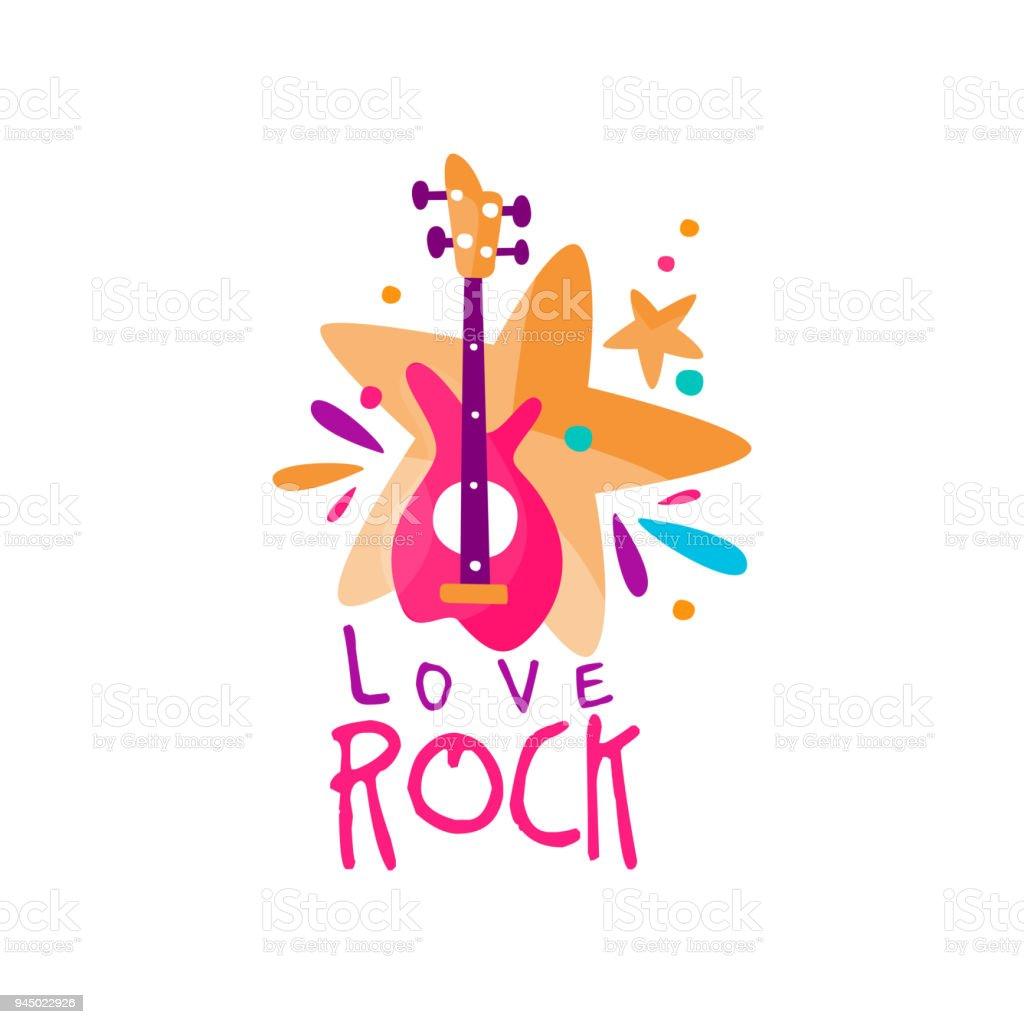 Rock-Musik-Ikone – Vektorgrafik