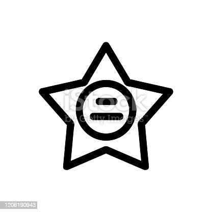 Rock music icon vector. Thin line sign. Isolated contour symbol illustration