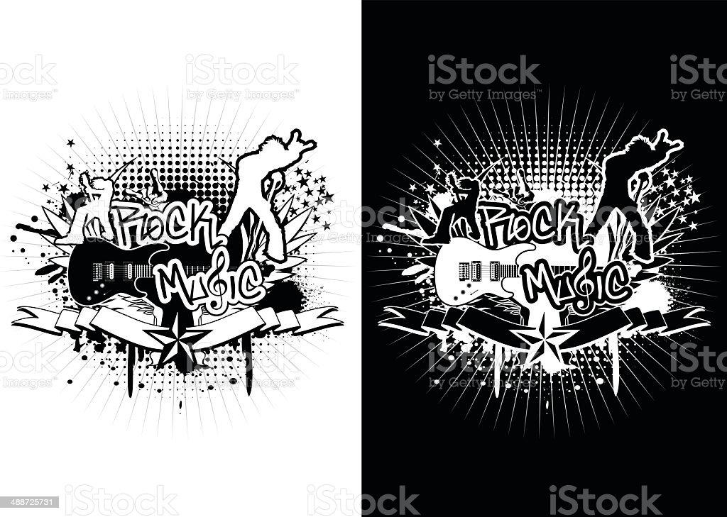 Rock Music royalty-free stock vector art