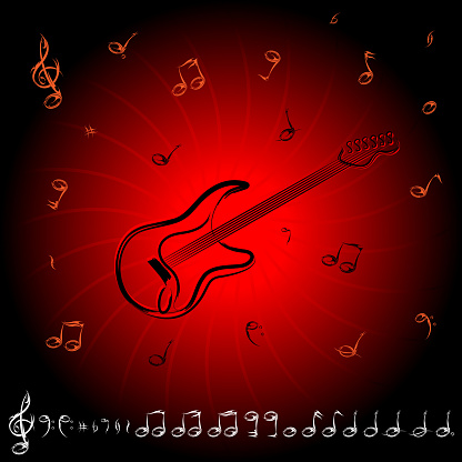 Rock Musical Note