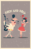 This passionate admirer of the King of Rock and Roll, he sings to an excited girl