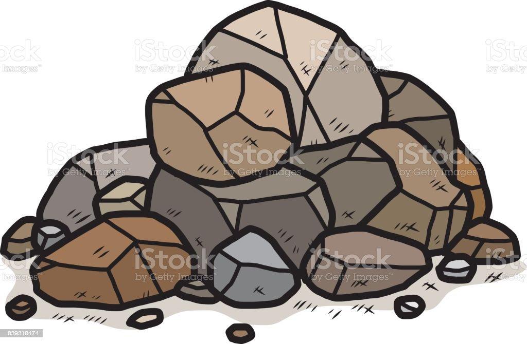 royalty free pile of rocks clip art vector images illustrations rh istockphoto com rock clip art border rock clip art free