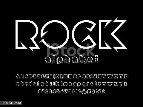 istock rock style font 1291010743