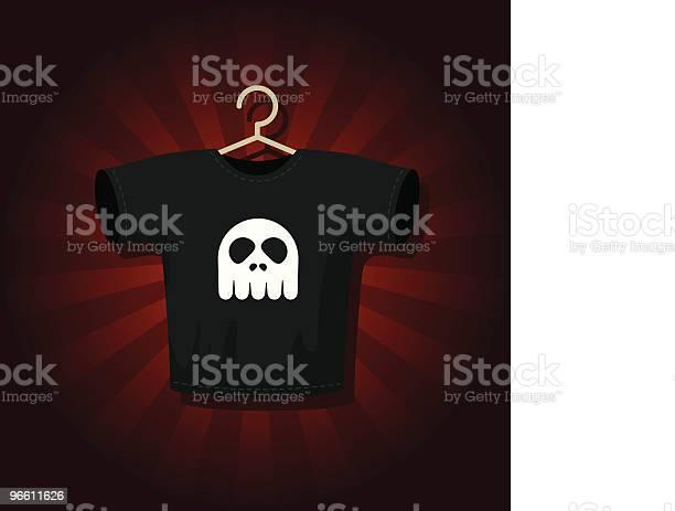 Rock Tshirt-vektorgrafik och fler bilder på Framför