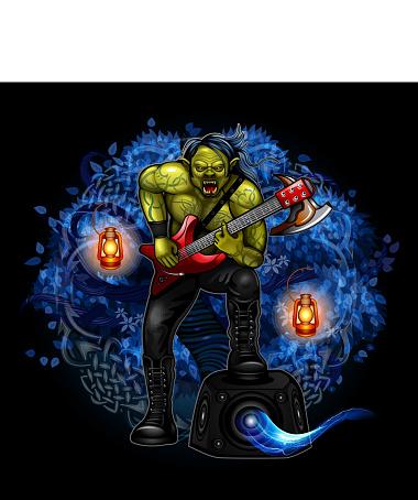 Rocker Orc