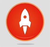 istock Rocket icon 1034198218