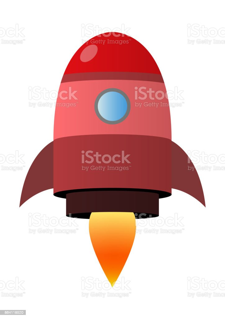 Rocket Icon royalty-free rocket icon stock vector art & more images of flying