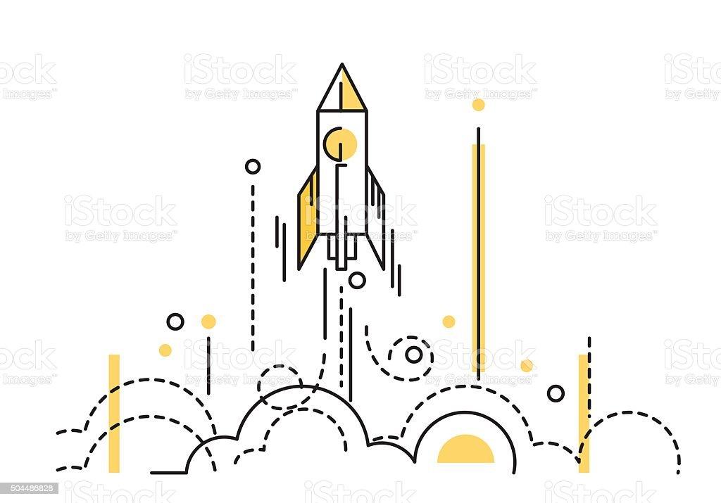 royalty free rocket launch clip art vector images illustrations rh istockphoto com free clip art rocket launch rocket launch clip art images