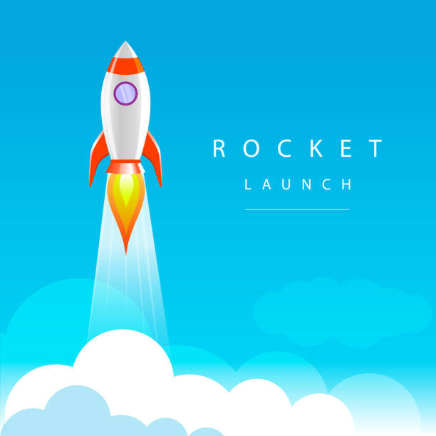 Top Rocket Launch Clip Art, Vector Graphics And