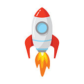 istock Rocket space ship launch 1249611748