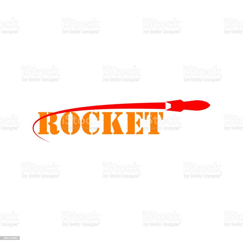 Rocket Vector Template Design royalty-free rocket vector template design stock vector art & more images of art