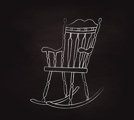 Rocking Chair Chalk