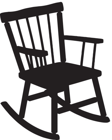 Rocking Chair Silhouette Stock Illustration - Download ...