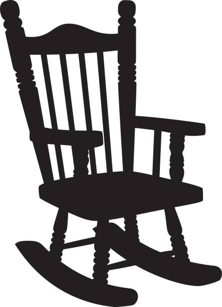 Royalty Free Rocking Chair Clip Art, Vector Images ...