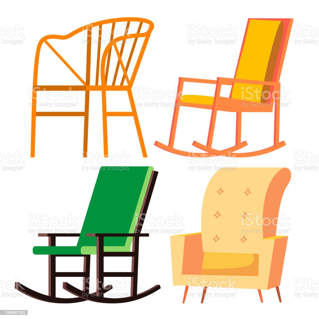Baby Rocking Chair Clipart Royalty Free Baby Rock...
