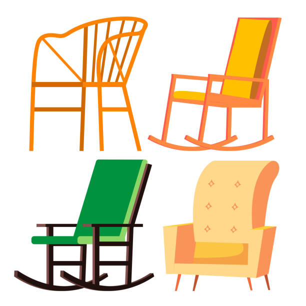 Baby Rocking Chair Clipart Royalty Free Ba...