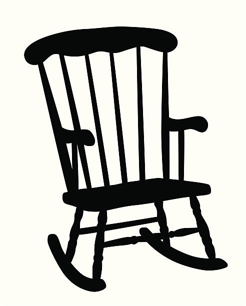 Best Rocking Chair Illustrations, Royalty-Free Vector ...