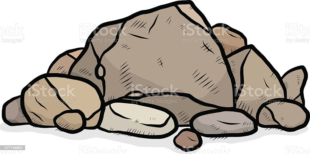 royalty free pile of rocks clip art vector images illustrations rh istockphoto com rock clipart images rocket clipart