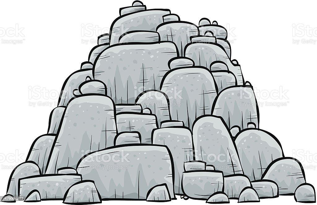 royalty free pile of rocks clip art vector images illustrations rh istockphoto com rocks clip art free rock clip art for kids