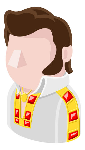 rockstar man avatar menschen ikone - smileys zum kopieren stock-grafiken, -clipart, -cartoons und -symbole