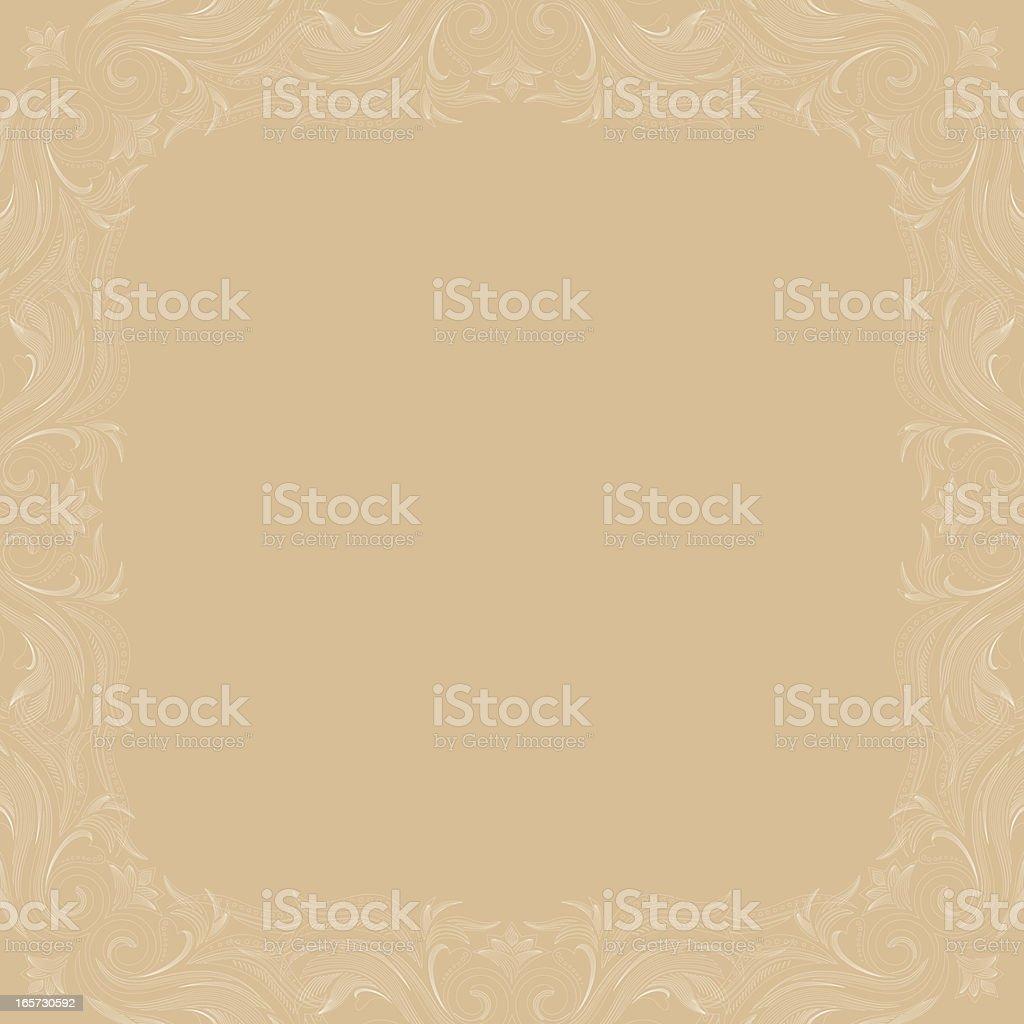 Rococo Background royalty-free stock vector art