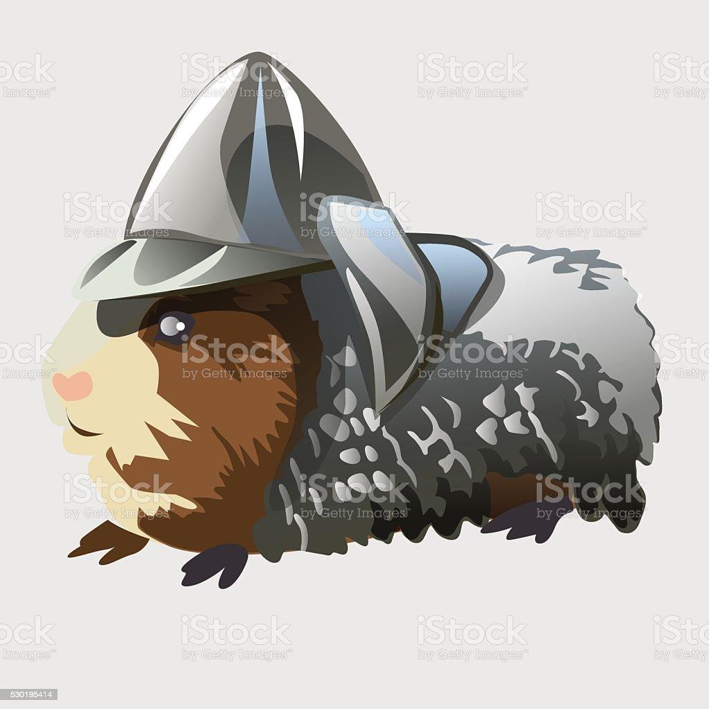 ネズミの騎士の甲冑漫画の動物のシリーズ のイラスト素材 530195414