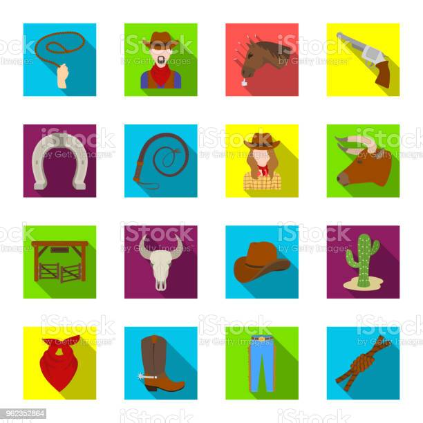 Rodeo competition flat icons in set collection for design cowboy and vector id962352864?b=1&k=6&m=962352864&s=612x612&h=k85 rgw jccd8aqhvfapu9kbld jomihxlzpevx9vye=