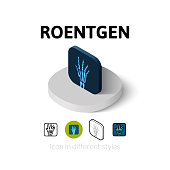 Roentgen icon in different style