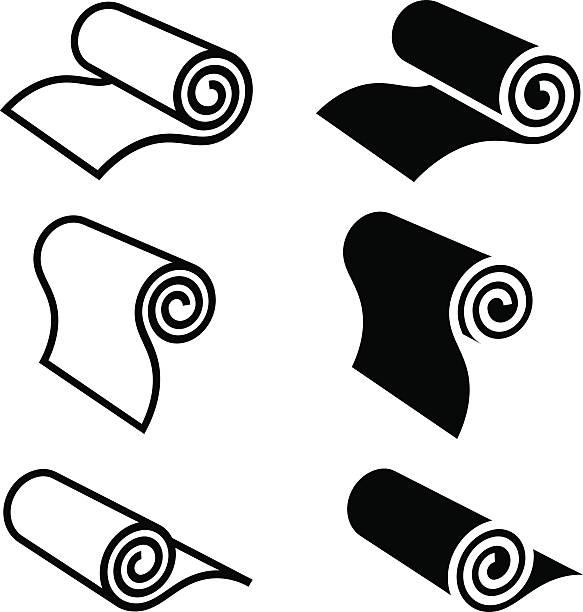 2 553 Yoga Mat Illustrations Royalty Free Vector Graphics Clip Art Istock