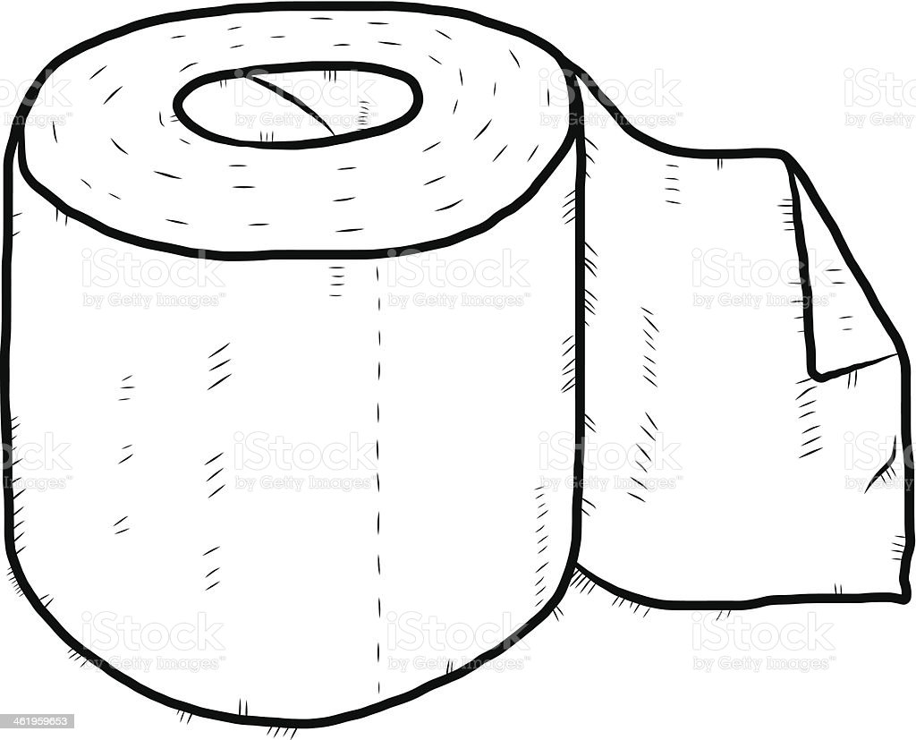 Tissue Paper Drawing