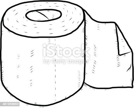 Roll Of Tissue Paper Cartoon Stock Vector Art Amp More