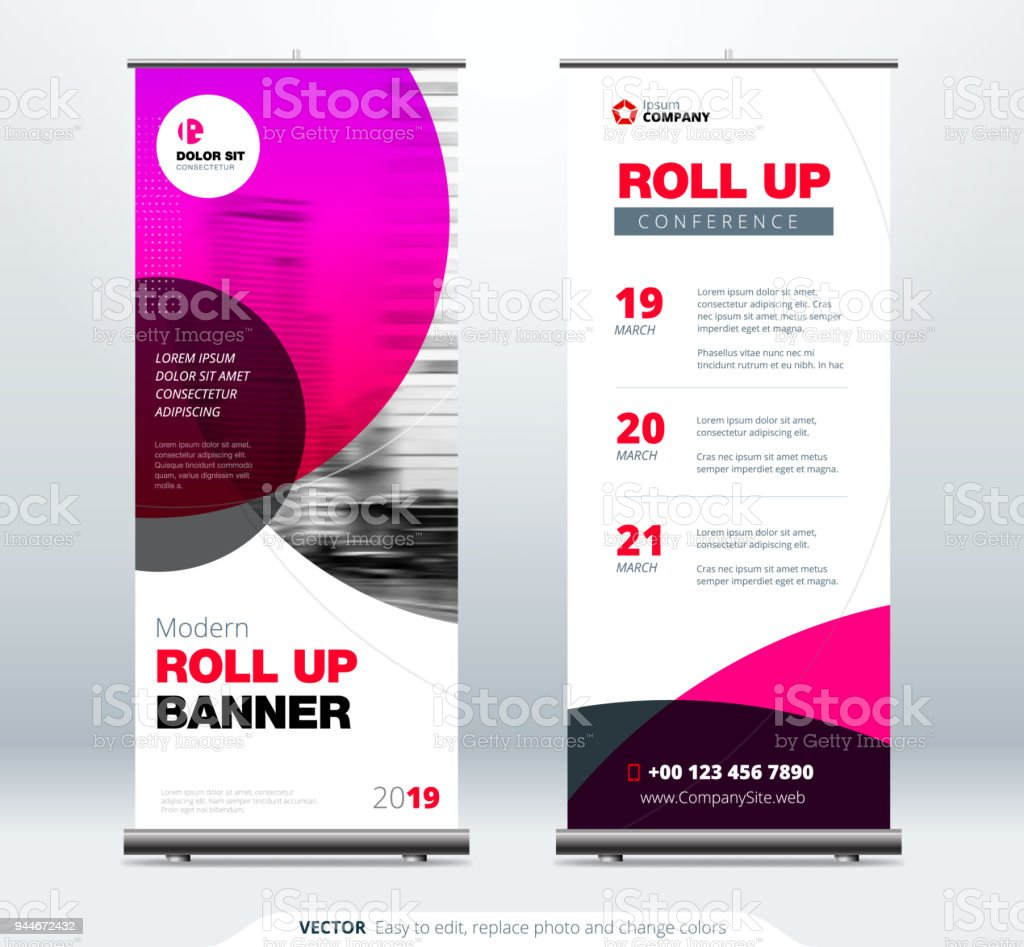 Roll Up Banner Präsentation Standkonzept Firmenkundengeschäft Rollup ...