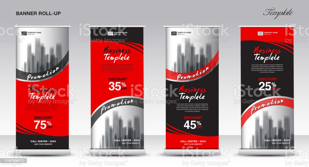 Pull Up Banner Template from media.istockphoto.com