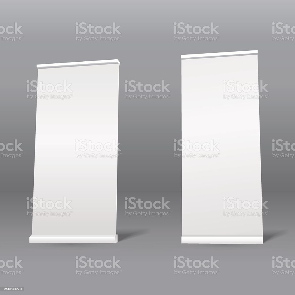 Roll up blank template. Promotion stand roll up blank template promotion stand — стоковая векторная графика и другие изображения на тему Абстрактный Стоковая фотография