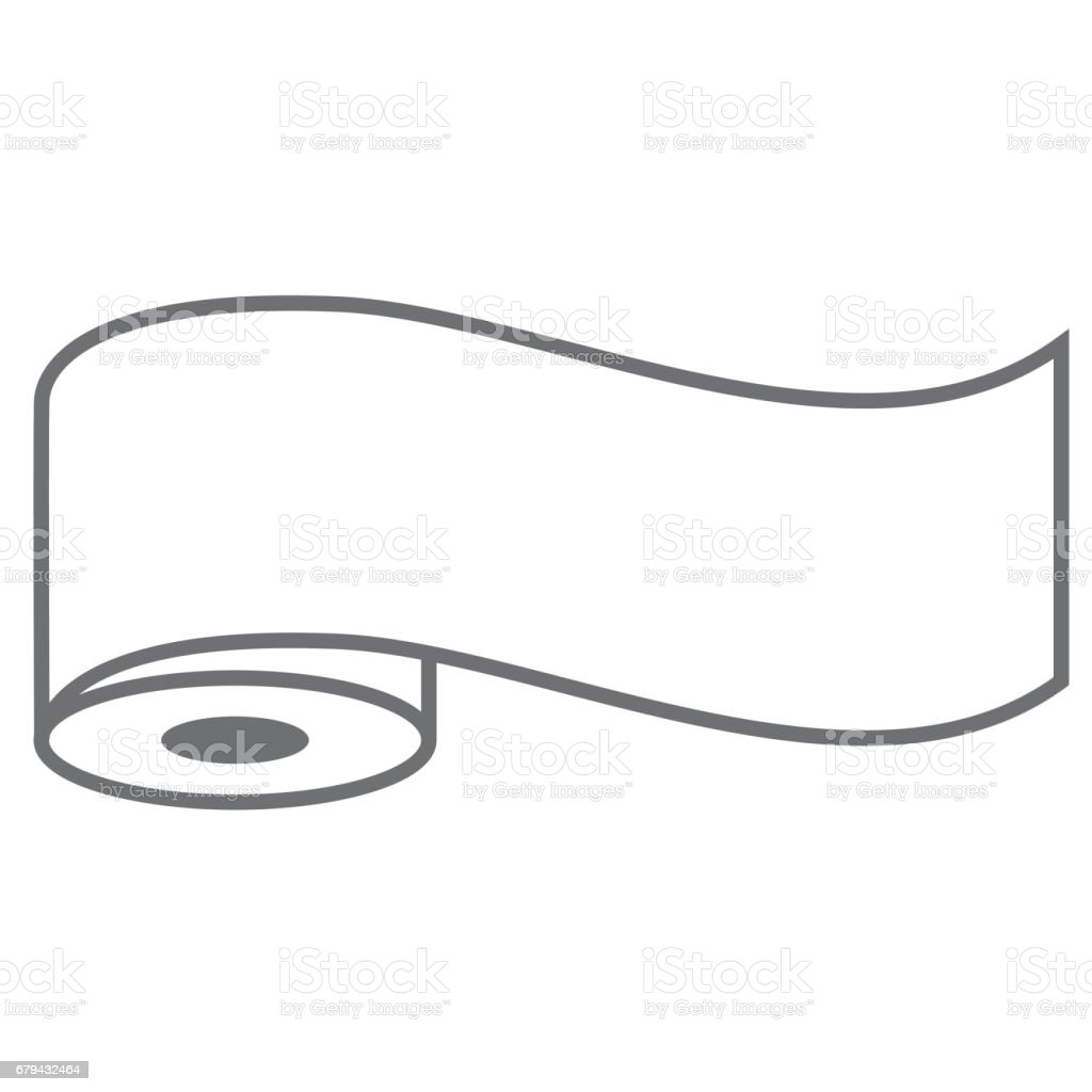 roll vector icon royalty-free roll vector icon stock vector art & more images of illustration