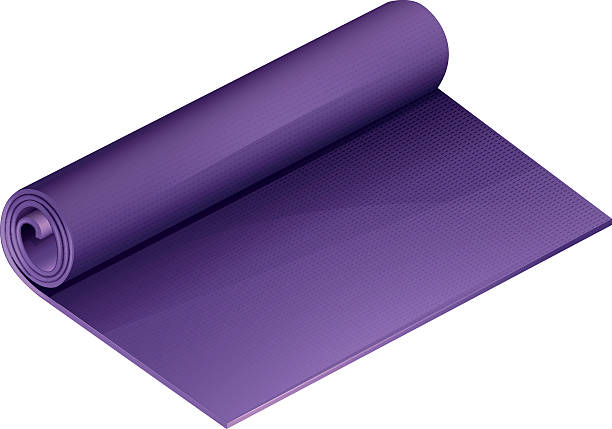 16 Yoga Mat White Background No People Illustrations Royalty Free Vector Graphics Clip Art Istock