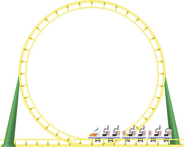 66ad4f7184f8a Top 60 Roller Coaster Loop Clip Art, Vector Graphics and ...