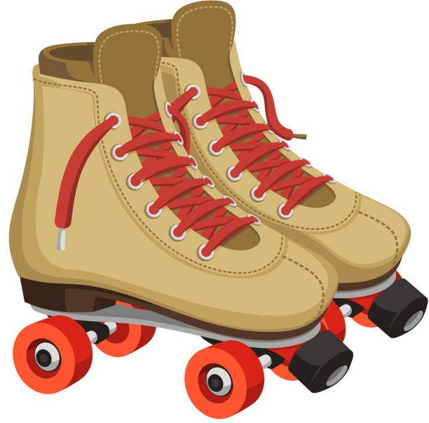 inline-skates - rollschuh stock-grafiken, -clipart, -cartoons und -symbole