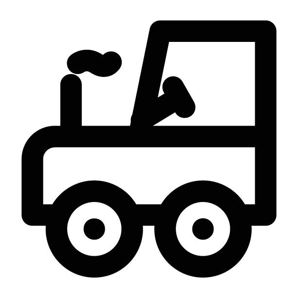 illustrazioni stock, clip art, cartoni animati e icone di tendenza di rullo - transport truck tyres