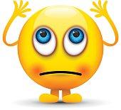 rolling eyes emoji character
