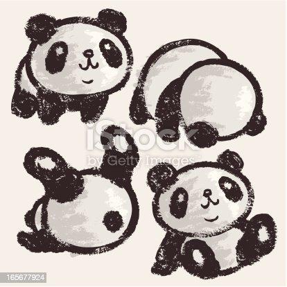 Panda del balanceo