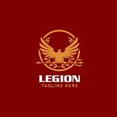 istock Roman Legionnaire Eagle symbol 1199825091