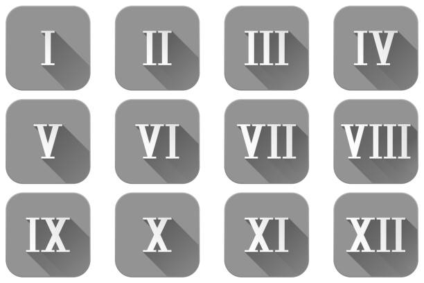 Royalty Free Roman Numeral Clip Art Vector Images Illustrations