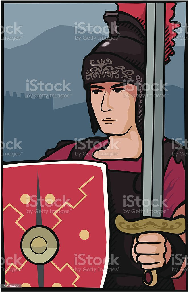 Roman Soldier royalty-free roman soldier stock vector art & more images of adult