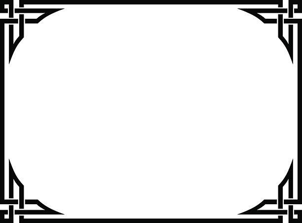 Royalty Free Clip Art Of A Diploma Border Clip Art, Vector