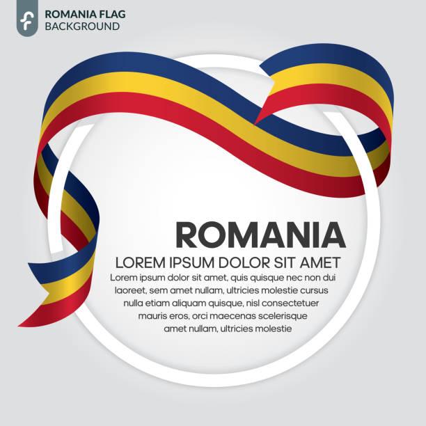 Romania flag background Romania, country, flag, culture, background romania stock illustrations