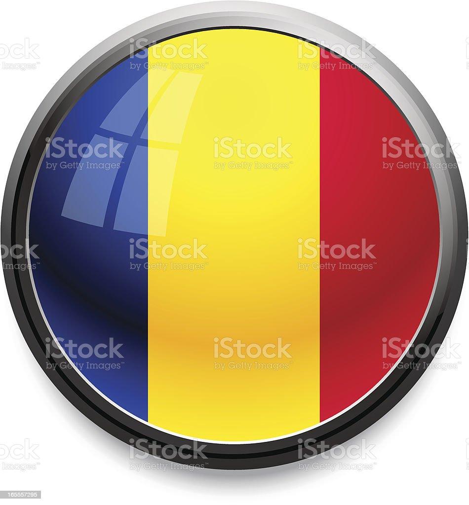 Romania - flag icon royalty-free romania flag icon stock vector art & more images of black border