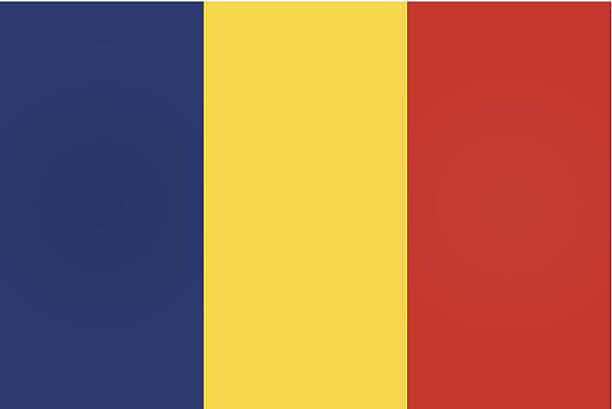 stockillustraties, clipart, cartoons en iconen met romania or romanian flag - roemenië