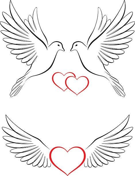 Taube Symbol Hochzeit