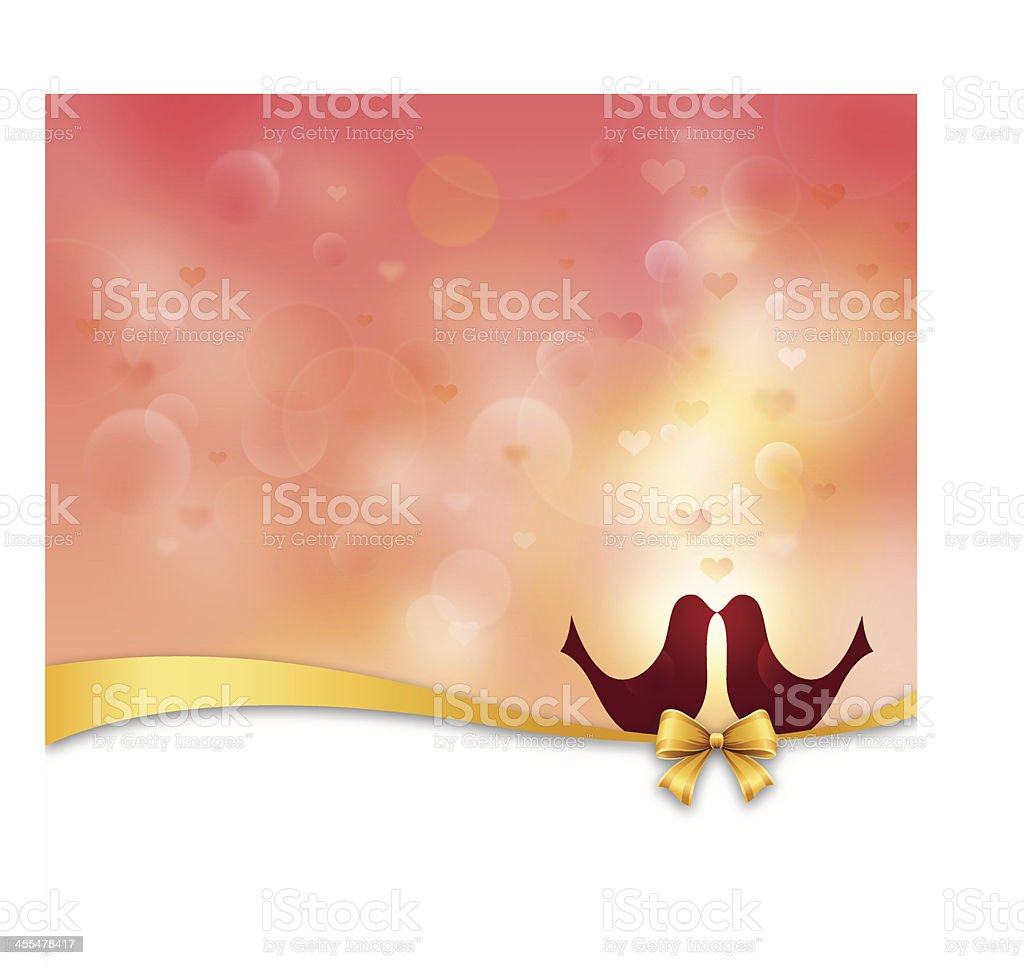 Romantic Blurry Background royalty-free stock vector art